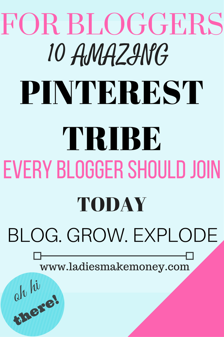 10 Tailwind Tribes to Join for Blogger to Increase Blog Traffic
