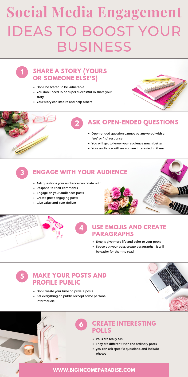 💥25 Social Media Engagement Ideas To Boost Your Business💥