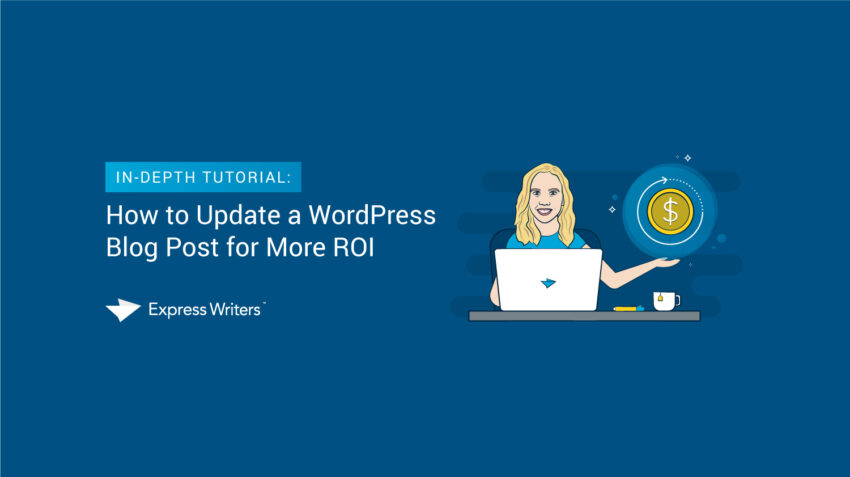how to update a wordpress blog post