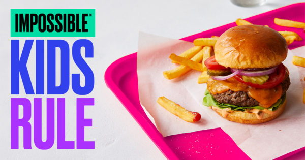 Impossible Now Has a New Venue for Its Faux Meat: School Lunchrooms