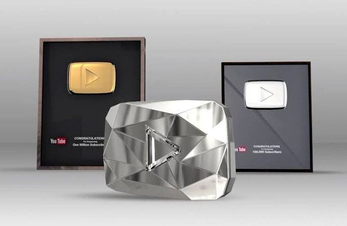 YouTube Play buttons : Everything You Should Know About !